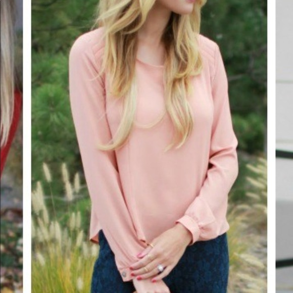 Astr Tops - Apricot blouse